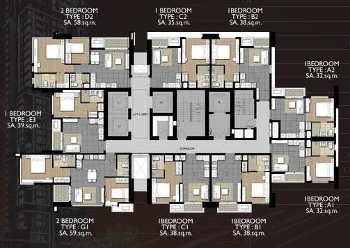 Floor Plan ชั้น 2