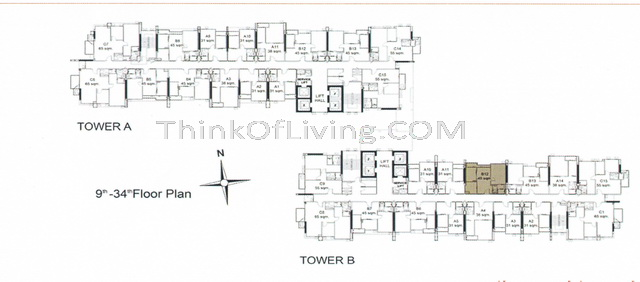 life ratchada floor plan