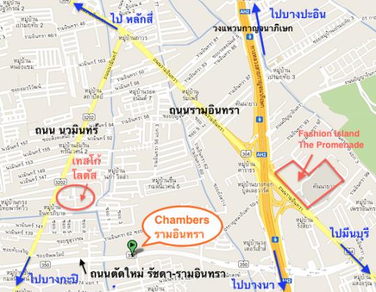 chambers - googlemaps