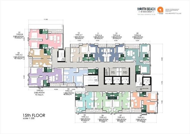 North Beach_Floor Plan- 15th Floor
