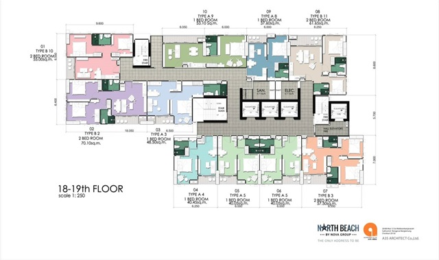 North Beach_Floor Plan-18th-19th Floor