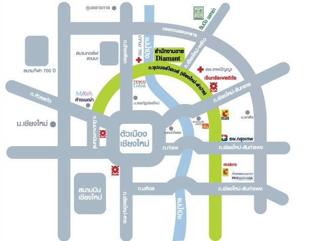 Diamantเชียงใหม่_Map_Official2