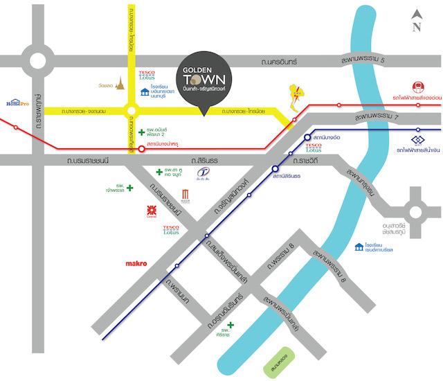 GTPK map