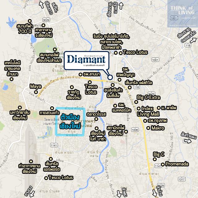 Diamantเชียงใหม่_Map_Sur3