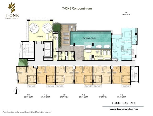Floor plan 2 nd