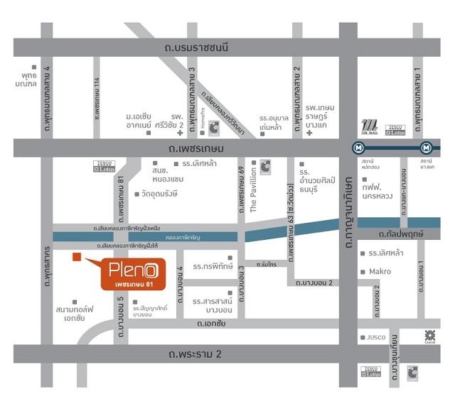 Pleno Phetkasem 81_map