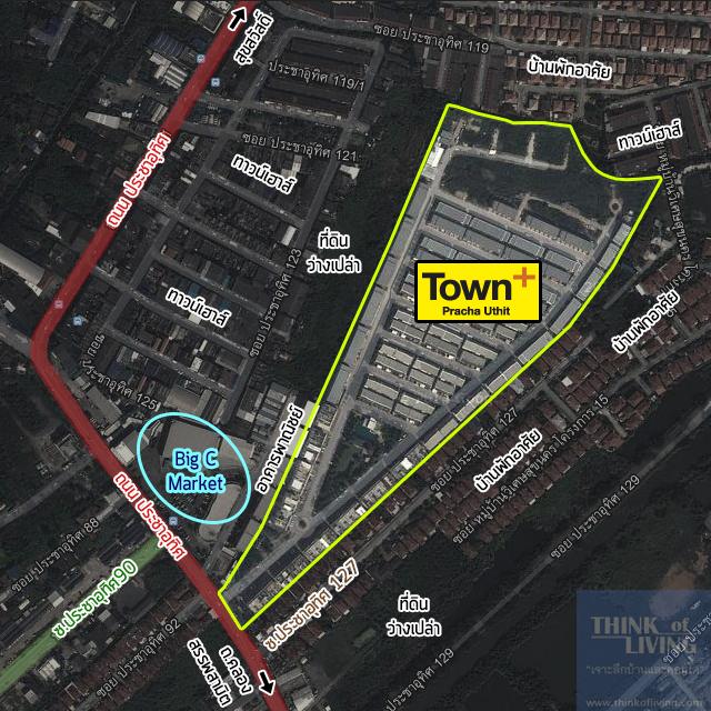 TownPlusประชาอุทิศ_Map_Site