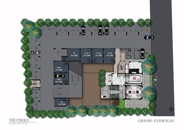 floor plan the unique sukhumvit 62:1 L1