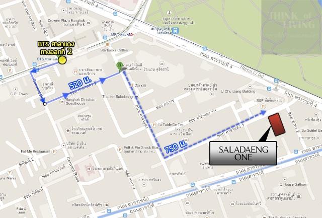 แผนที่-BTS-ศาลาแดง