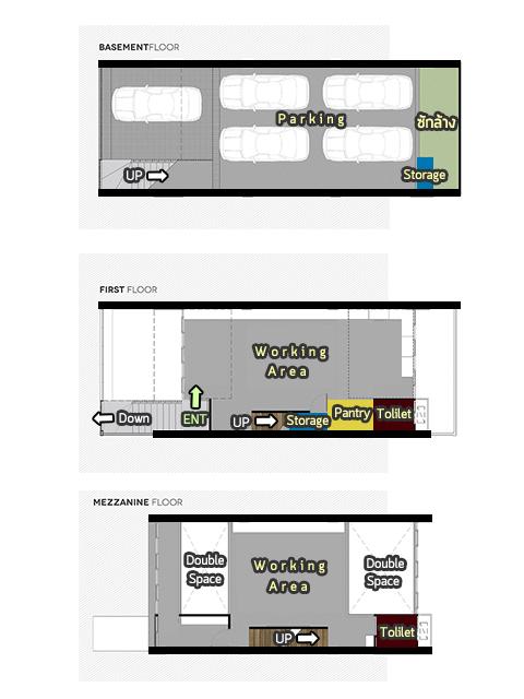 ชั้น 1-3 แปลน Hof