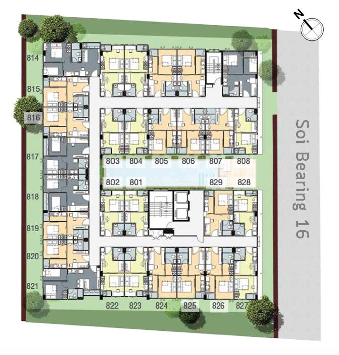 pause id floor plan 88
