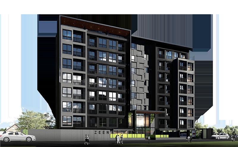 ZEEN condo คอนโด Low-rise ในซอยงามวงศ์วาน 31 เยื้องกับ The Mall งามวงศ์วาน จาก P36 Development [PREVIEW]
