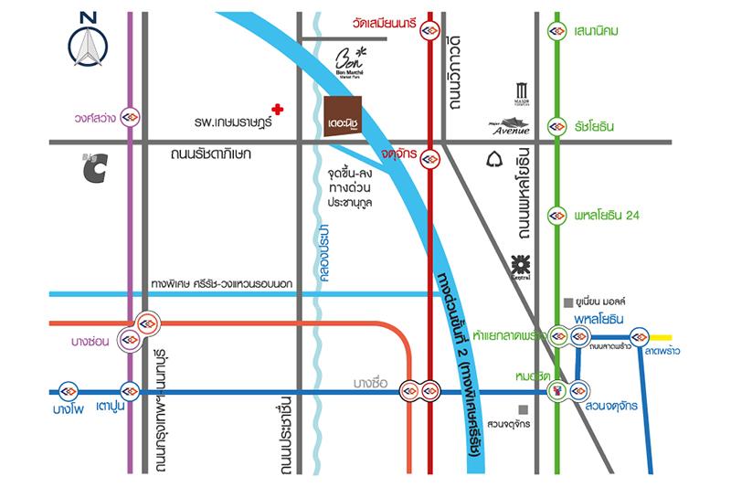 The Niche mono รัชวิภา MAP