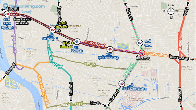 map road for บทความ