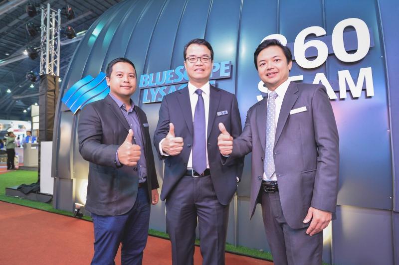 คุณเดชาคม บุญมา รองประธาน ฝ่ายการตลาด บ.เอ็นเอส บลูสโคป (ประเทศไทย)คุณสมเกียรติ ปินตาธ