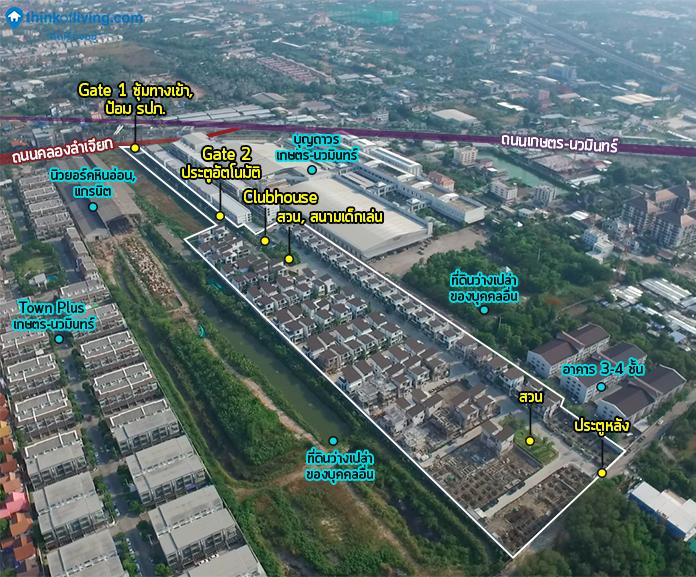 Map Zoom พื้นที่โครงการ