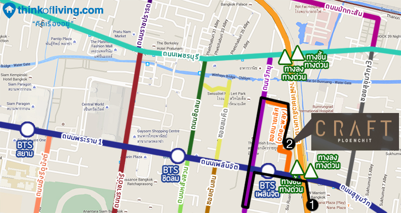 MAP4 tollway route1