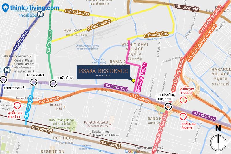 Map 1 - Issara