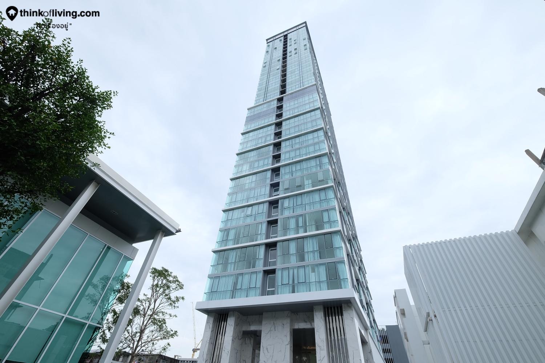 รีวิวตึกเสร็จ De LAPIS จรัญ81 คอนโด High Rise บนถนนจรัญสนิทวงศ์ ใกล้สถานีบางพลัด จาก Grand Unity [รีวิวฉบับที่ 1925]
