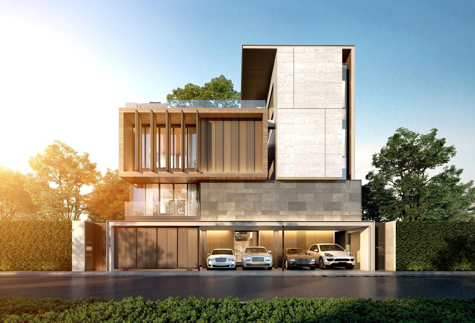 The Primary V เกษตร – นวมินทร์ บ้านเดี่ยวและบ้านแฝดหรู 4 ชั้น ในซอยประเสริฐมนูกิจ 29 จาก กรุงเทพพัฒนา ซีเอ็มเอส จำกัด [PREVIEW]