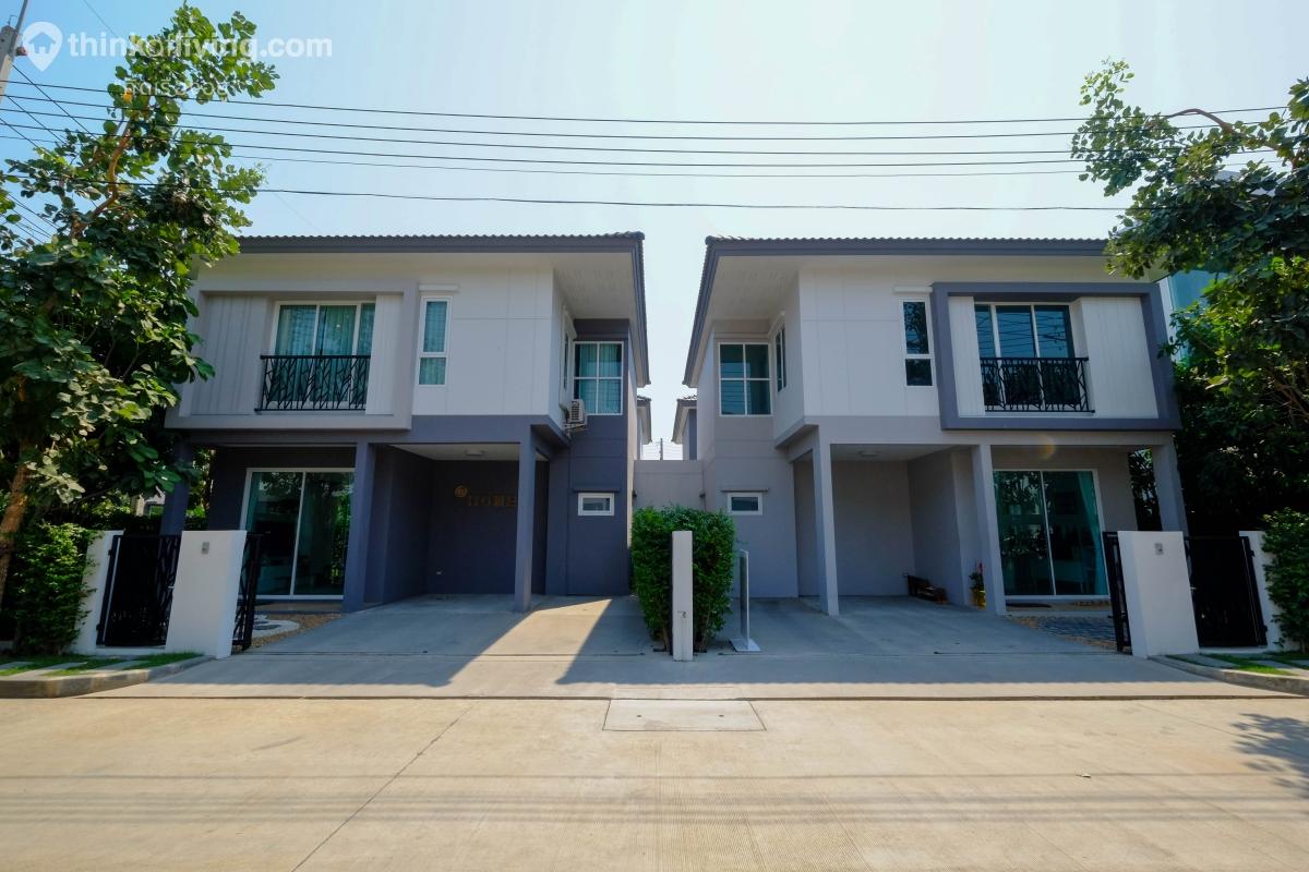 พาชมโครงการ ฟอร์เร่ ลำลูกกา – คลอง 5 บ้านแฝดและทาวน์โฮม ใกล้ถนนกาญจนาภิเษก จาก ปริญสิริ